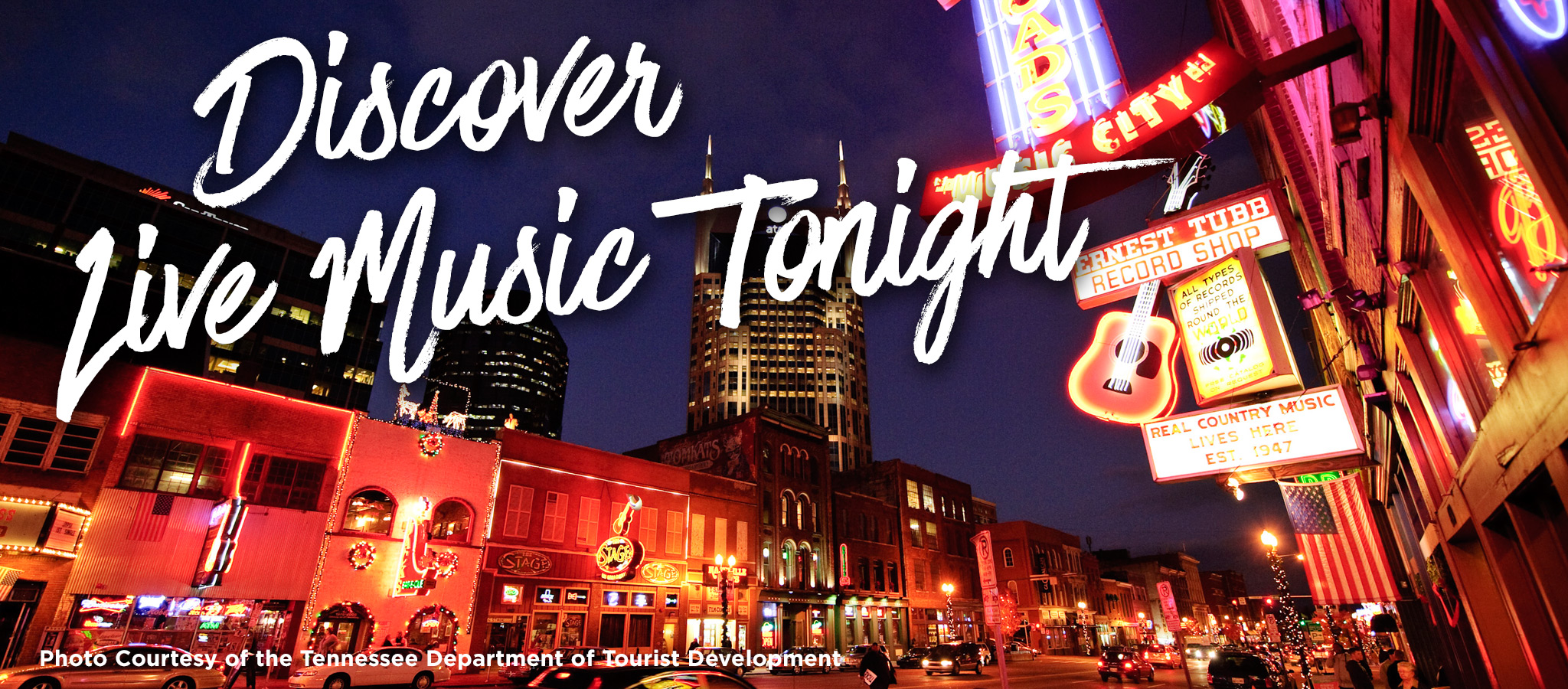 Discover Live Music Tonight!
