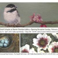 Judy Klich + Sarah Schuyler at Marnie Sheridan Gallery, Harpeth Hall School