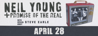 Neil Young + Promise of the Real w/ Special Guest Steve Earle