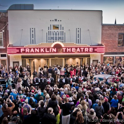 TEMPORARILY CLOSED The Franklin Theatre