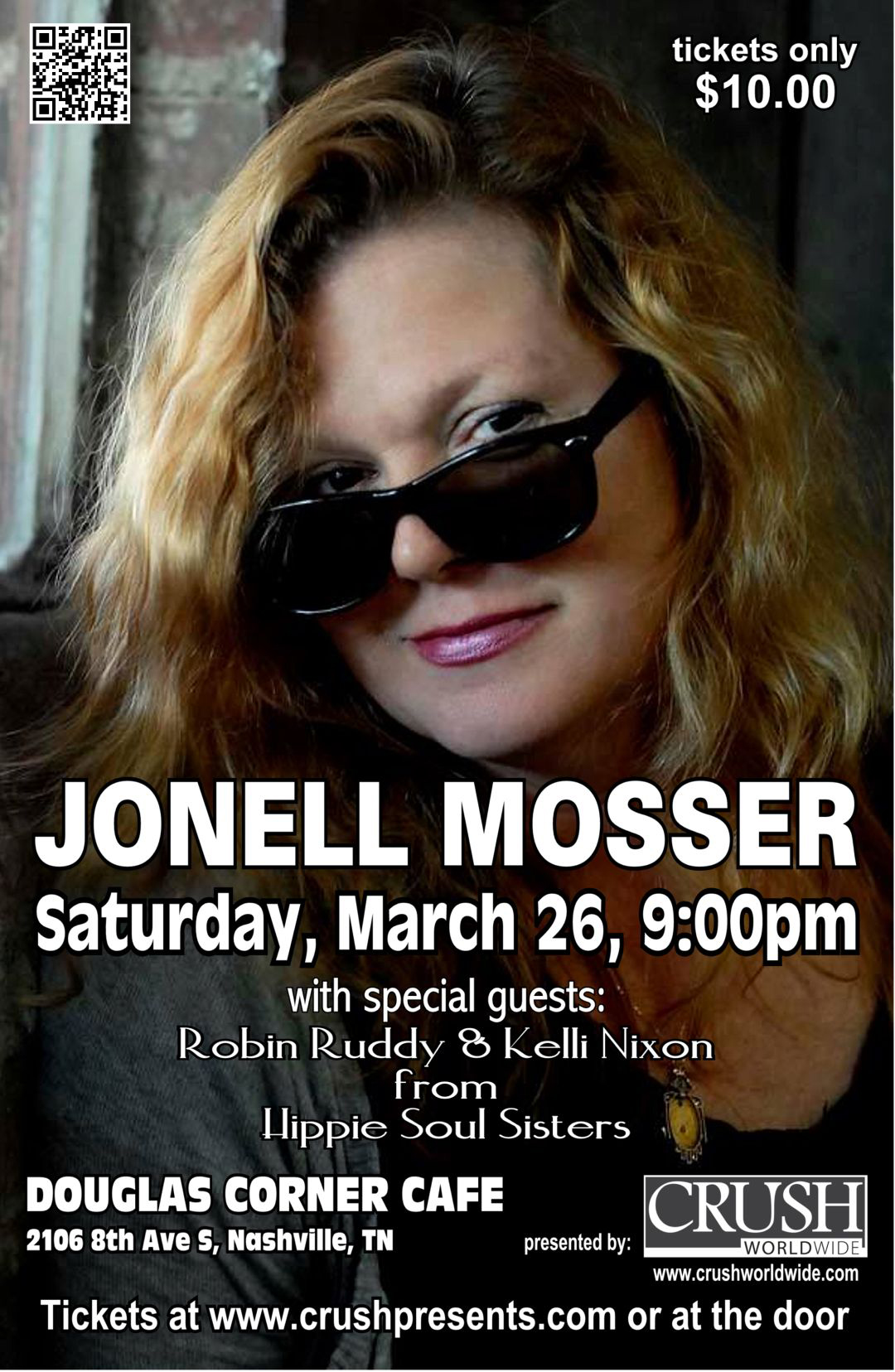 Jonell: Inspire Live Presents: Jonell Mosser With Kelli Nixon And