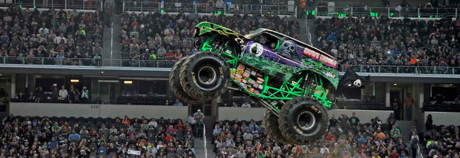 Monster Jam® is adrenaline-charged family entertainment providing jaw-dropping displays and gravity-defying feats that promises to always leave fans entertained. Monster Jam events feature some of the most recognizable trucks in the world including Grave Digger®, Max-D, El Toro Loco® and many more.4/5(K).