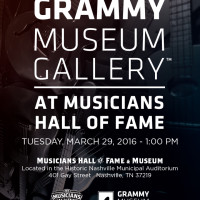 Ribbon Cutting: GRAMMY Museum Gallery at Musicians Hall of Fame