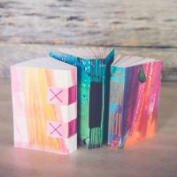 Book Arts Class | Paste Papers, Pop-Up Books, and More!