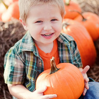 The Pumpkin Patch at Lucky Ladd's Fall Family Fun Festival