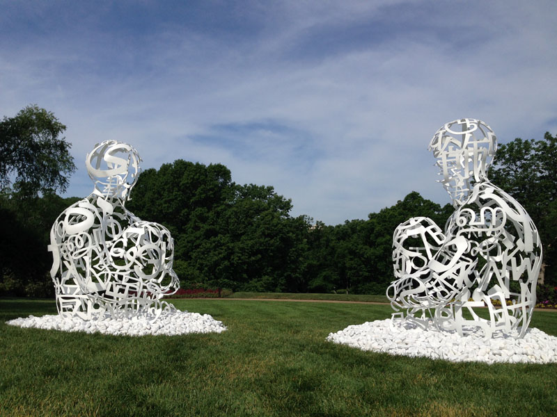 The Soul of Words I and II, 2014