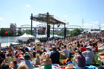 The Daytime Stages at Riverfront Park will be free and open to the public during CMA Music Festival, June 11-14, 2009. photo: Amanda Eckard