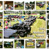 3rd Annual Authentic Coffee Jeep Meet