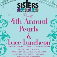 4th Annual Pearls and Lace Luncheon