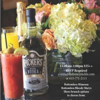 Bloody Marys, Brunch and Bubbles Benefit