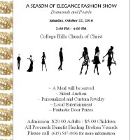 A Season of Elegance Fashion Show-Diamonds and Pearls