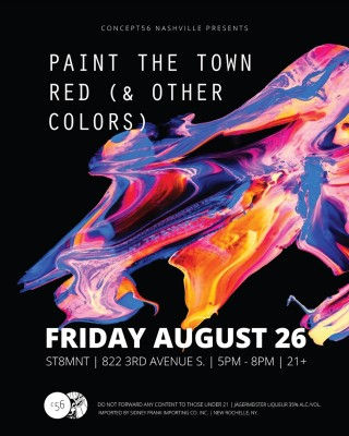 Paint The Town Red Other Colors Presented By Concept56
