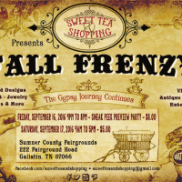Sweet Tea & Shopping 2016 Fall Frenzy