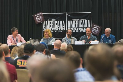 "An ""Alternatives to Labels"" panel at a previous AMA Conference. Courtesy of AMA."