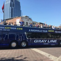 Music City Trolley & Double Decker Hop-on, Hop-off Tour