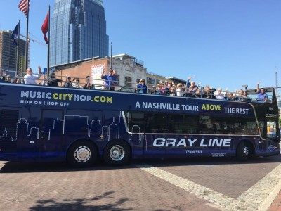 Music City Trolley & Double Decker Hop on/off Tour...