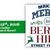 Making Merry in Berry Hill Street Festival