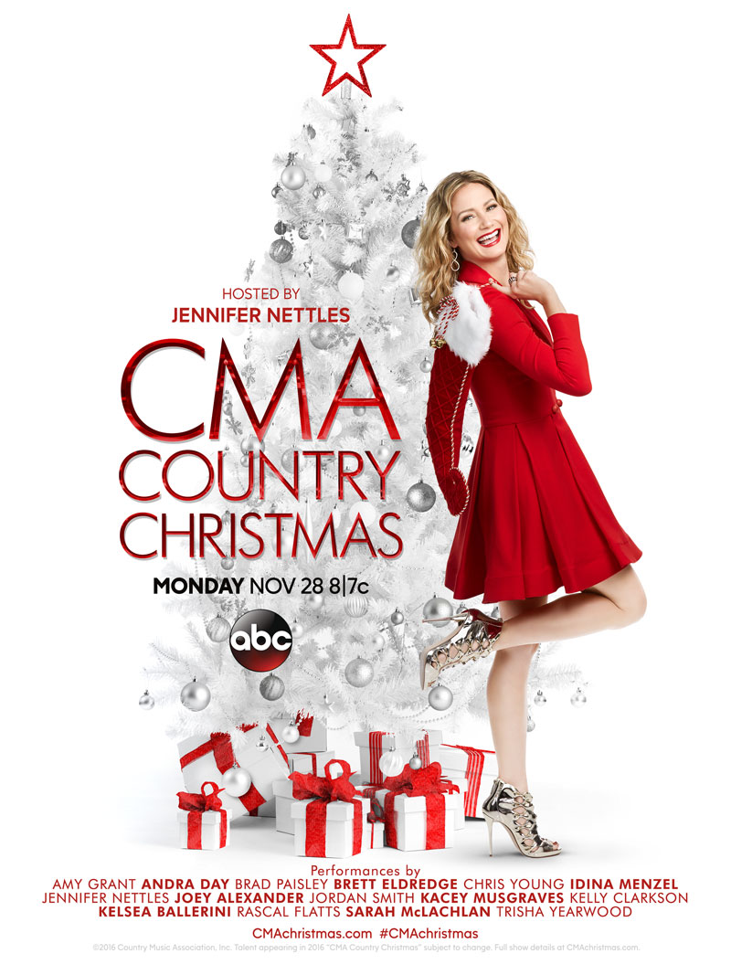CMA Country Christmas Live on ABC presented by Country Music ...