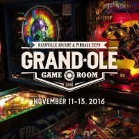 Grand Ole Gameroom Expo | Arcade, Pinball, and Video Game Expo