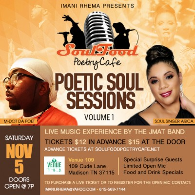 The Poetic Soul Sessions Volume I
