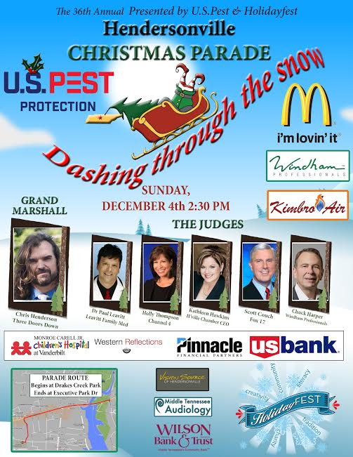 HolidayFest Annual Hendersonville Christmas Parade presented by US ...