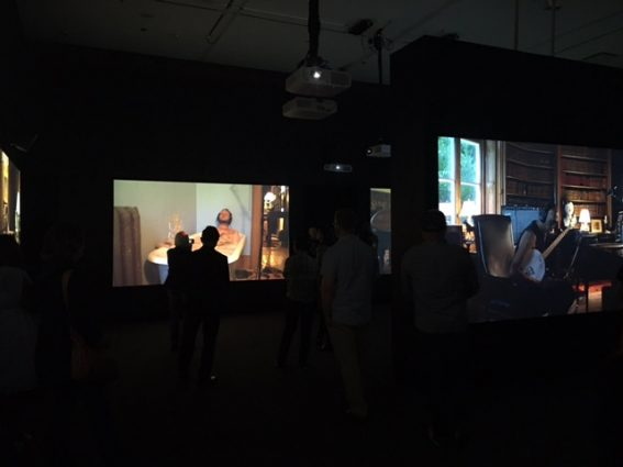 The Visitors - Installation View