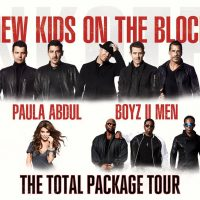 Things to Do: New Kids On the Block with Paula Abdul and Boyz II Men
