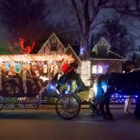 Sixth Annual Holiday Lights Carriage Tours