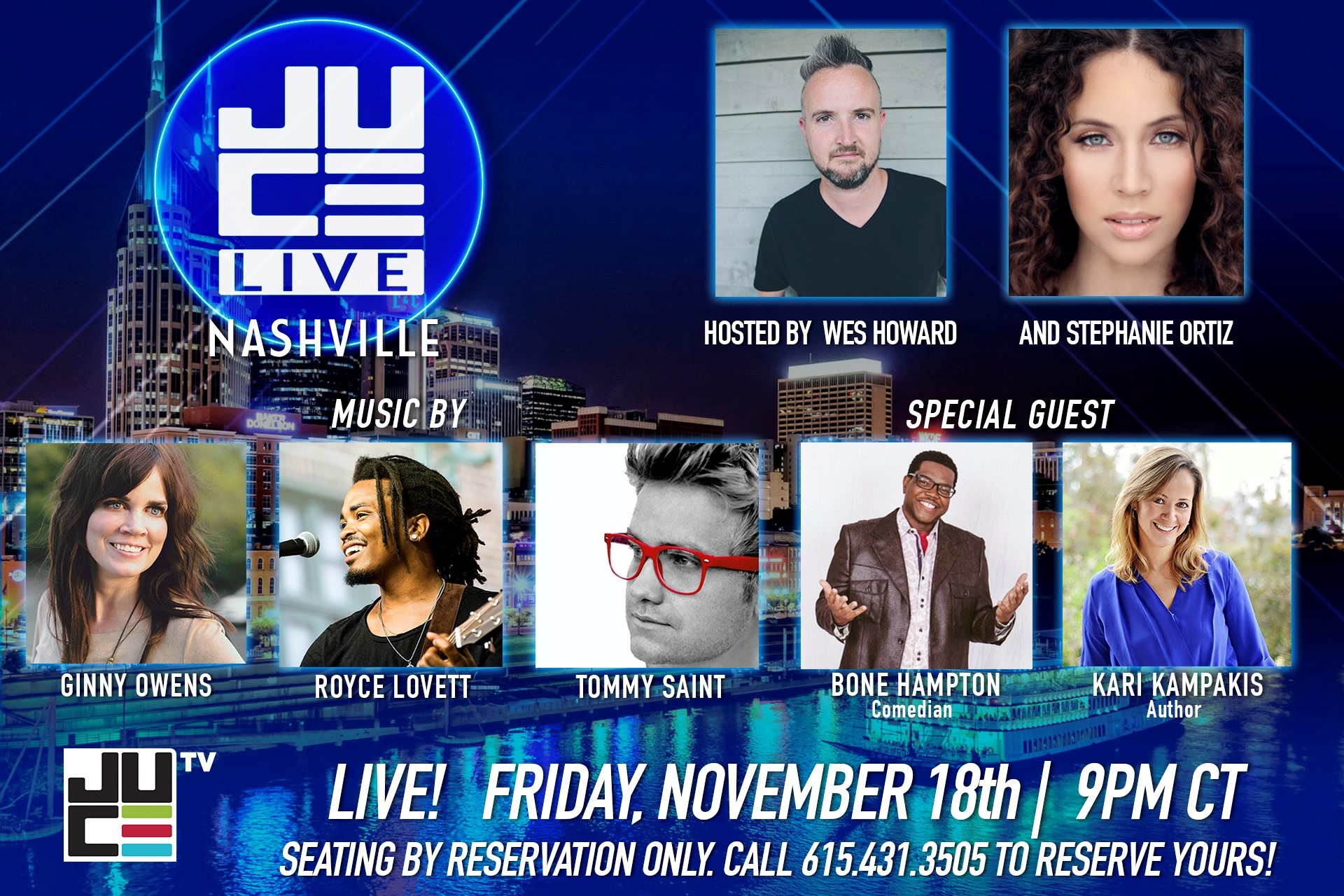 JUCE TV Network Live Taping - NowPlayingNashville com