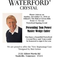 Waterford Signing Event