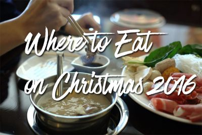 Where to Eat on Christmas