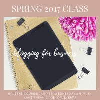Class | Blogging For Business