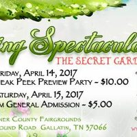 Sweet Tea & Shopping 2017 Spring Spectacular: The Secret Garden