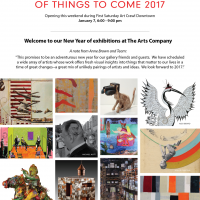 Of Things To Come 2017 at The Arts Company