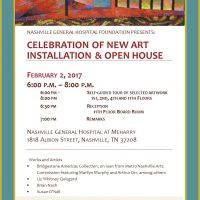 Art and Open House at Nashville General Hospital at Meharry