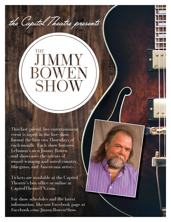 The Jimmy Bowen Show with Special Guest to be Announced