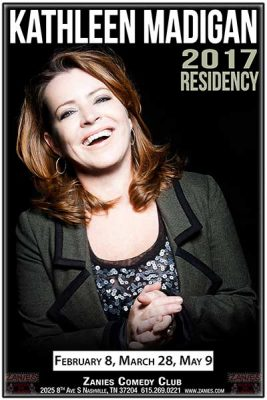 Kathleen Madigan performs at Zanies