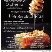 Honey and Rue with the Nashville Philharmonic Orchestra
