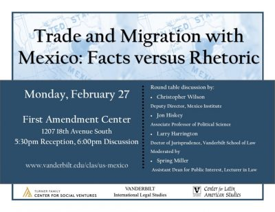 Trade and Migration with Mexico | Facts versus Rhetoric