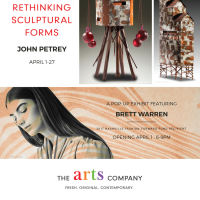 New Works by John Petery & Brett Warren at The Arts Company