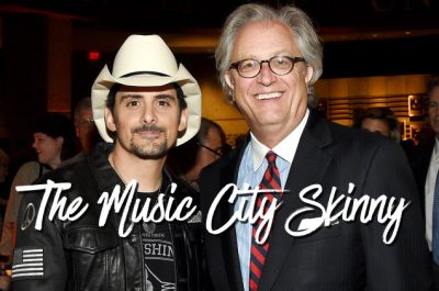 Brad Paisley and Country Music Hall of Fame and Museum CEO Kyle Young pose during opening night of the 'Brad Paisley: Diary of a Player' Exhibit at Country Music Hall of Fame and Museum on Nov. 17, 2016 in Nashville, Tenn. From Billboard Story. Rick Diamond/Getty Images for Country Music Hall of Fame & Museum