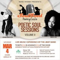 Poetic Soul Sessions Volume II I Featuring Mera Cox