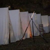 War of 1812 Campfire Tour at Andrew Jackson's Hermitage