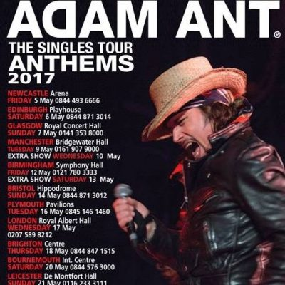 Adam Ant: The Anthems Tour