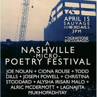 A Nashville Micro Poetry Festival