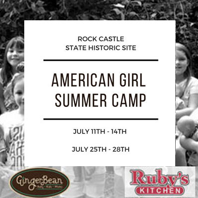 American Girl Club Summer Camp at Historic Rock Castle