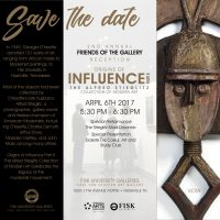 Grand Opening of the Origins of Influence Part II & 2nd Annual Friends of the Gallery Reception