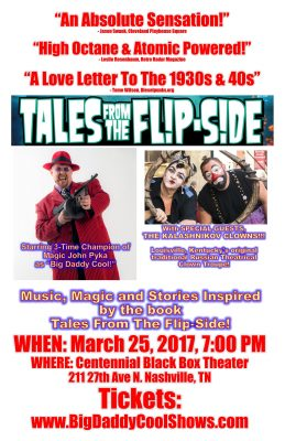 Music City Magic: Tales From The Flip-Side On Stage!