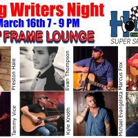 Songwriters Night at The 11th Frame Lounge