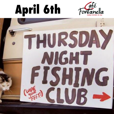 Thursday night fishing club presented by cafe fontanella for Italian kitchen silver spring